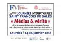Journées Internationales Saint François de Sales à Lourdes