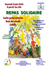 Repas solidaire du CCFD-Terre Solidaire